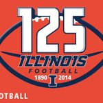 RT @IlliniFootball: We're celebrating our 125th yr of football on Sat! Look for great #Illini moments each day at 1:25 CT. #Illini125 http://t.co/EUpeGhOGuY