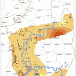 #MapsMonday Ash yield of Herrin Coal seam in Illinois. http://t.co/JKY05kRABF http://t.co/G7JaYRdrY5