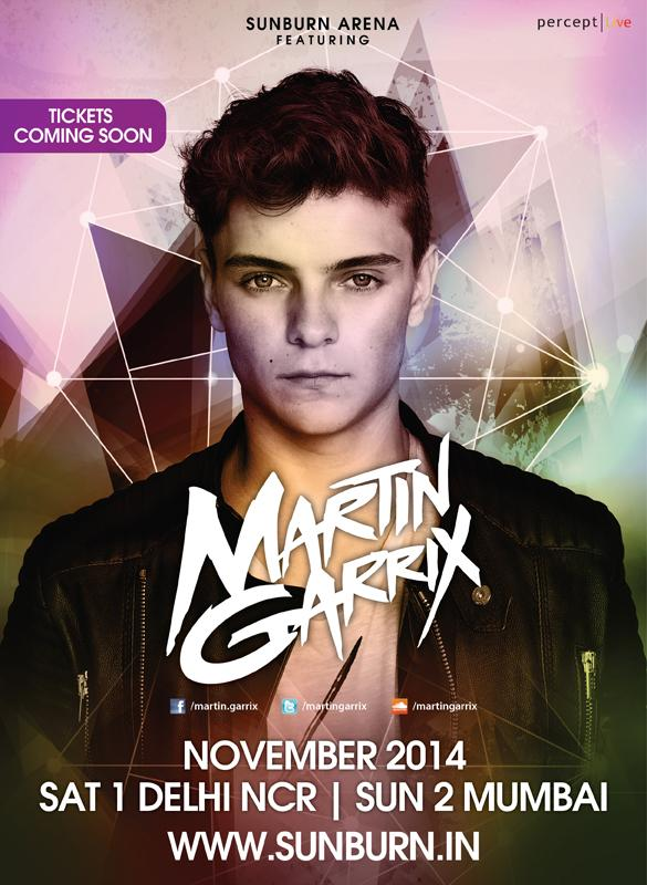 #Alert - Dutch star @MartinGarrix  is coming for his debut #India Tour with #SunburnArena this November! R u ready? http://t.co/N5YlKgG85q