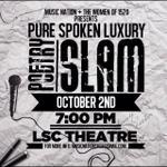 @MusicNationSHSU + @1520_shsu #PureSpokenLuxury | October 2nd | LSC Theatre 7PM Be There #SHSU #SHSU18 http://t.co/8kEIAsVASj