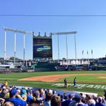 RT @VisitKC: Preppin the #postseason field at the @Royals rally. #TakeTheCrown http://t.co/dGEJOpRsZd