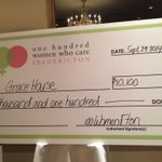 RT @100WomenFton: Drumroll...The charity we are donating 10,100$ to tonight is Grace House #bigcheers #100womenfton http://t.co/LO487agK9X