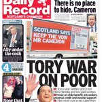 RT @Daily_Record: Tuesdays @Daily_Record front page #scotpapers http://t.co/RCQXDzSTDh
