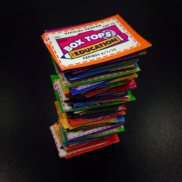 It's almost October. Know what that means? Must. Get. More. Box Tops! http://t.co/GwuZjNUQy9