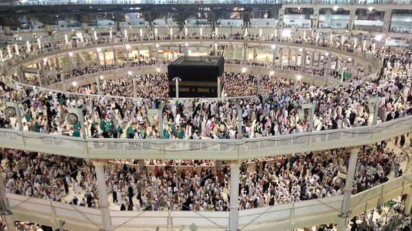 This was my view for a couple of hours today :) #hajj2014 http://t.co/RmIt1e7yt4