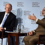 "RT @RichardHaass: with #India PM @narendramodi @CFR_org ""terrorism divides, tourism unites."" full video at http://t.co/mYWjZz5LSE http://t.co/FHJiwkJTAq"