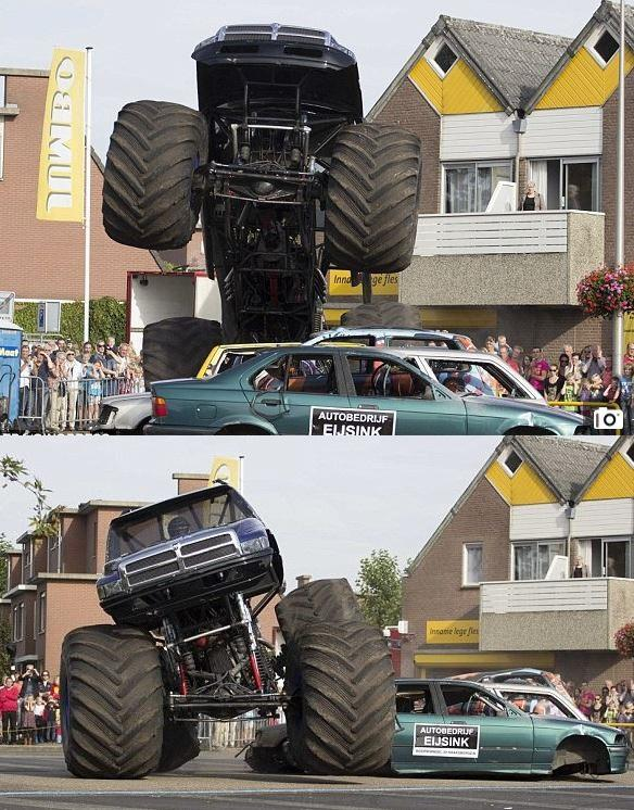 Sad Rip Horror At Car Show As Monster Truck Ploughs Into The - Monster car show