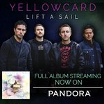 RT @Yellowcard: Our new album #LiftASail is now available for streaming in full on @Pandora_Radio! http://t.co/ISvpeqcm2q http://t.co/GP7Jz…