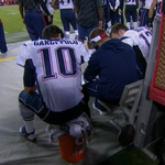 Garoppolo may have thrown his first touchdown pass, but he still cant get a seat on the bench. http://t.co/vejI49Q7zl