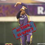 Sunil Narine called now. If you're a spinner who bowls with a full-sleeve shirt, watch out. http://t.co/yYdIwNs10Q