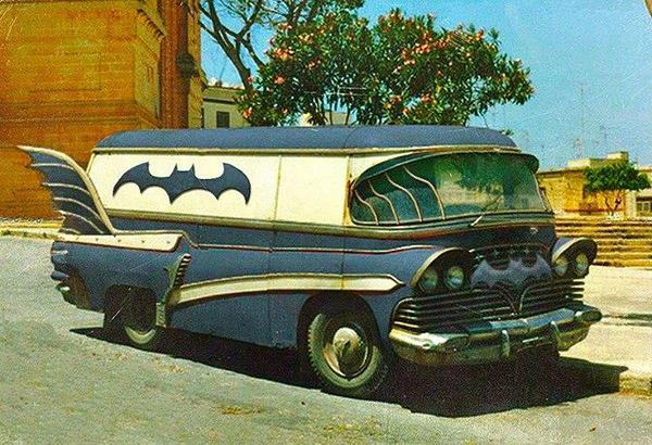 A different, but very cool, version of the #Batmobile. http://t.co/XzegEB6fdR