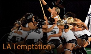 LatiNation (@LatiNationTV): Football fans get the best of the game, minus the men with the ladies of #LATemptation this weekend! @MyLFL http://t.co/ztQFT1hc2C