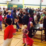 RT @BBuruma: Huge turnout as families pick up #TheCityOfEmber at #1Book3Schools http://t.co/S5fWrdFkqn