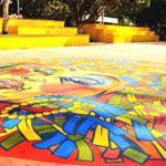 RT @elsanoguerabaq: Por ser un barrio carnavalero, le regalamos al Parque Las Nieves un cumbiódromo erigido en honor a María Moñitos. http://t.co/S5pbaCavjl