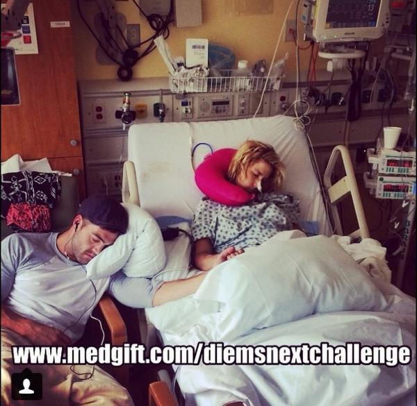 LOVE. Let's keep @DiemBrownMTV in our prayers. http://t.co/0McMPrUXIv
