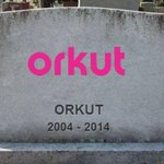 RT @JornalOGlobo: R.I.P Orkut. Sdds eternas. Te considero pacas. http://t.co/y1ebzQsJ1W http://t.co/NoGhIqRCB6