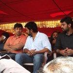 #Vikram #Karthi & #Vimal @ #TamilCineIndustry Strike For #jayalalithaverdict