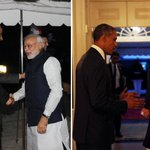 RT @firstpostin: Photos: Narendra #Modi with Barack #Obama at the official White House dinner http://t.co/zEALef6IDP http://t.co/uGvUfH7TdJ