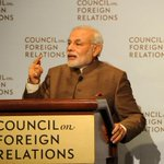 RT @narendramodi: Sharing my speech at the Council on Foreign Relations in New York City. http://t.co/oRcJgMMmws http://t.co/DvVY0Iz6ef