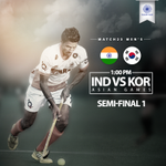 RT @TheHockeyIndia: The Men's team to face a tough challenge against Korea in the 1st Semi-final today. #INDvsKOR #2014AsianGames http://t.co/l8djZcp4nM