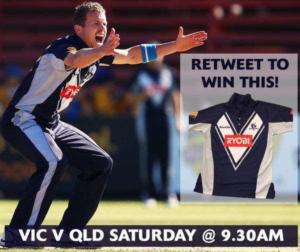 Retweet this pic for your chance to win a @bushrangers playing shirt! Random winner announced tomorrow at 3.00pm. http://t.co/wwK0lgmeMQ