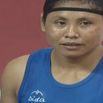 Laishram Sarita Devi settles for BRONZE in 57-60kg Womens #Boxing after controversial refereeing at #2014AsianGames http://t.co/5KzVfsFbxQ