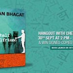 RT @Flipkart: Hangout w/ author @chetan_bhagat today at 2PM! Leave a question for him & win signed copies of Half Girlfriend! http://t.co/mq4cy8OQWl