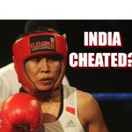 RT @Sportskeeda: Was Sarita Devi cheated against Korean Jina Park? Here is the best reactions from Twitter! http://t.co/3HzVNO59Iv http://t.co/41EhpJBoxc