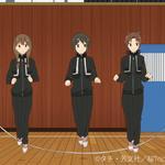 ということで、アニメでの1-Aのクラスメイトは以上になります。(ちなみにこちら、左から新村さん、川藤さん、池野さん、飯塚
