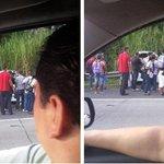 .@Noriel_Alcedo reporta accidente después del puente el Centenario con dirección hacia Panamá http://t.co/J1HXA4G6El
