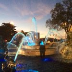 RT @LisaCRadio: Gonna be a beautiful day for baseball! JC Nichols Fountain goes @Royals blue. #TakeTheCrown http://t.co/RMK6Y3lVTv