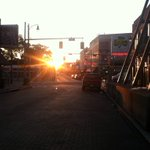 I GOT IT! Better #sunrise pic on Beale St. Im glad I didnt miss this! @local24sean #Memphis http://t.co/TgOqGehCOx
