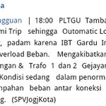 RT @iradiojogja: Info gangguan jaringan listrik - via @pln_jogja http://t.co/RfUdsVJsSw
