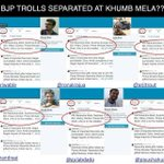 RT @AapYogendra: A glimpse into how BJP trolls are managed. Here are 6 profiles with same 10,000 Tweets!