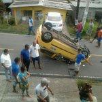 Vuelco en el Valle de Urracá, informan que conductor perdió el control del vehículo. Info @jesusmena03 #TuReportas http://t.co/skeM0pEE2B