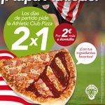 Disfruta el partido de esta noche en tu casa con una Athletic Club Pizza. http://t.co/Qncvih8gPe http://t.co/siY1U6QbrV