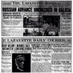 100 yrs ago today; @jconline A1, 9/30/1914: Russian Advance Unchecked In Glacia #JCArchives #WW1Centenary http://t.co/kdw6KKgFa4