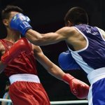RT @HTSportsNews: #MissionAsiad | Satish Kumar wins to enter semi-finals in boxing +91kg category, assured of bronze #AsianGames2014 http://t.co/1mv5H3aqbi