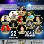 RT @mahasiswamlg: #SUCROS2MLG finale! | 22 Nov | Graha Cakrawala | 30k | opengate 2PM | @StandUpIndo_MLG CP @honeytanpopo 085697733569 http://t.co/tIgb9rP73t