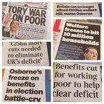 Todays news: Osbornes war on poor to hit 10 million families http://t.co/oRMO2VMkkJ