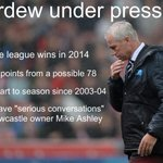 "#NUFC boss Alan Pardew set for ""serious conversations"" with Mike Ashley http://t.co/UC6dknaoE8 http://t.co/P4THPRJjNy"