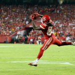 #Chiefs RB Jamaal Charles. 21 touches - 108 yards - 3 TDs Welcome back. http://t.co/gw3R84ypQ0