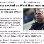 RT @SlowSportsNews: Breaking: Alan Pardew Sacked with immediate effect http://t.co/N0qRfJdIYA