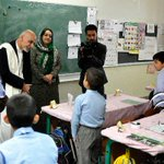 "RT @MalaliBashir: RT ""@pajhwok: #AFG. President Ashraf #Ghani visited a school on his second day of presidency http://t.co/0XlrppklTy"""