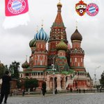 RT @FCBayernEN: The Reds at Red square - no fans in the stadium tonight sadly but send us your support with #MiaSanMia #CSKAFCB http://t.co/HWStCX2Dtn