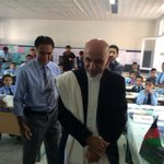 RT @ashrafghani: I have visited pupils at school on my first day in office. It all starts from that class, they are our future: http://t.co/7Z1YoHeEkL
