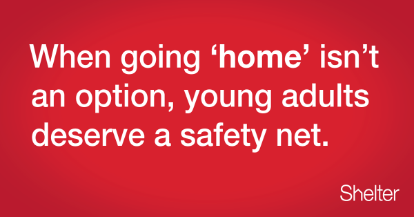 Don't take away the #safetynet that stands between young adults and the streets. Sign here: http://t.co/Qg4mhdR2Km http://t.co/bn7nZ35Nt6