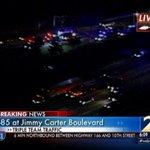 Big jam from Gwinnett County! @mckayWSB over 2 crashes on I-85. Live airborne updates on @wsbtv & @wsbradio. http://t.co/3Jjg3KGAKD