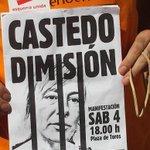 RT @eualacant: Manifestación este sábado día 4 a las 18h en la Plaza de toros. Que se oiga al pueblo. #CastedoDimision http://t.co/WcuYaWqwU9