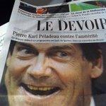 PKP/Jack Nicholson The Shining; même combat?!? En tous cas, on appelle ça une photo éditoriale... #Ouch #polqc http://t.co/fSPy2Eo6a1